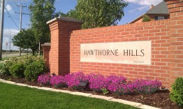 Entrance to Hawthorne Hills